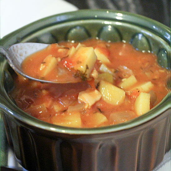 Manhattan Clam Chowder from Art of Natural Living