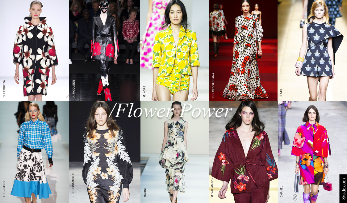 Foodhomelifestyle How To Wear Spring 2015 Fashion Trend Bold Florals