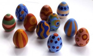 paint your own wooden eggs