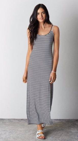 Split Strap Maxi Dress, American Eagle Outfitters